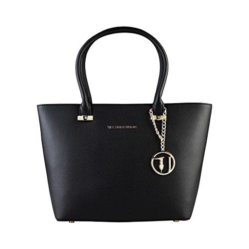 sac-porte-epaules-trussardi-shopper-noir