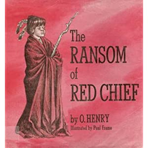 ransom of red chief Bill and sam are confused after kidnapping johnny (red chief) man vs self conflict the red chief (johnny) ebenezer dorset characters sketch of o henry.