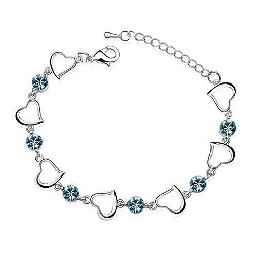 rarelove-swarovski-elements-aquamarine-crystal-gold-plated-multi-hearts-bracelet
