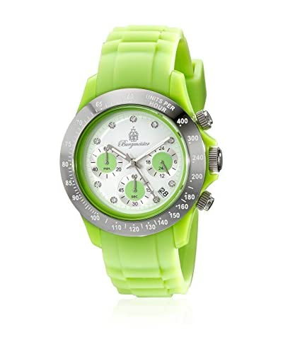 Burgmeister Reloj de cuarzo Florida Verde 40 mm