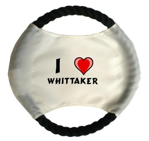 personalised-dog-frisbee-with-name-whittaker-first-name-surname-nickname