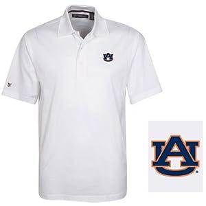NCAA Auburn Tigers Mens Cambridge Polo Shirt by Oxford