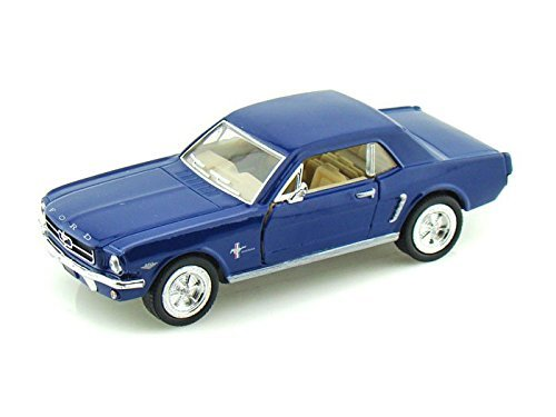 1964 1/2 Ford Mustang 1/36 Blue