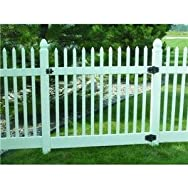 Genova Building Products FGK200 Classic Picket Gate