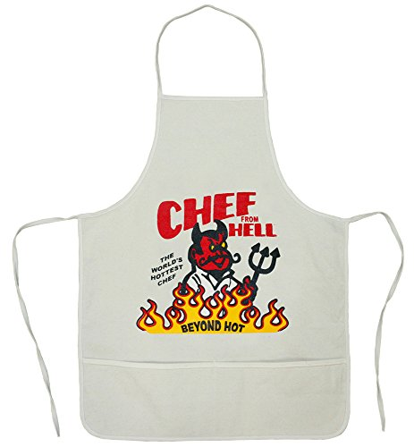 The Apron From Hell - This Apron Is Beyond Hot! Buy One For Your Hot Chef.