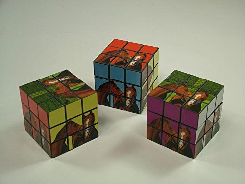 Horse Themed Fantasy Cube, Horse Picture Rubix Cube