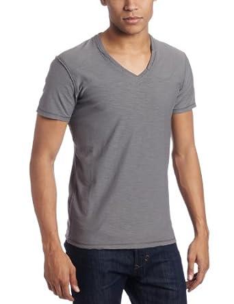 Diesel Men's Tos Reversed-Slub Jersey T-Shirt, Grey, Small