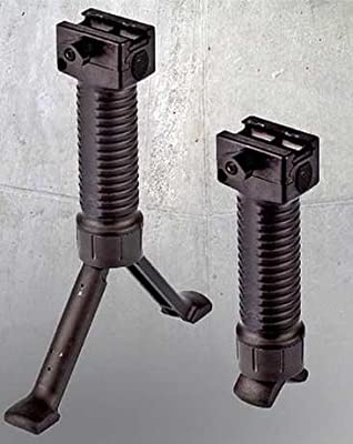 Paintball Tactical Vertical Grip Foregrip Fore Grip Bipod, Airsoft Rifle Vertical Grip with Bipod, AIR GUN Rifle Bipod with Grip, Tactical Air Rifle Foregrip Fore Grip Bipod, Tippmann Paintball, Bt Paintball, Spyder GUN Bipod, Tippmann X7, Tippmann X-7, T