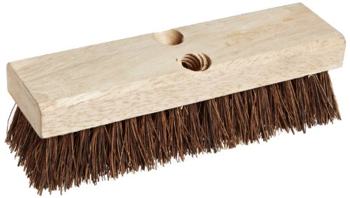 weiler-44026-palmyra-fill-deck-scrub-brush-with-wood-block-10-overall-length