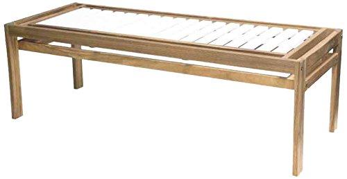 Siena Mybalconia 989868 Modular 3-Sitzer Gestell Akazie FSC® 100% geölt Flächen Akazie FSC® 100% weiß lackiert Beschläge aus galvanisiertem Stahl günstig