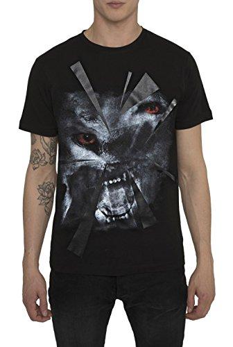 Camisetas-de-Moda-Designer-Cool-Fashion-Rock-para-Hombre-Camiseta-Negra-con-Estampada-WOLF-BEAST-Cuello-redondo-Manga-corta-Algodn-Alta-calidad-Ropa-Moderna-para-Hombres-S-M-L-XL-XXL