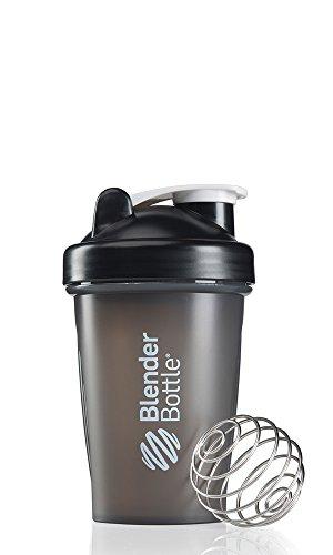 Blenderbottle Classic Shaker Bottle, 20-Ounce, Black/Black