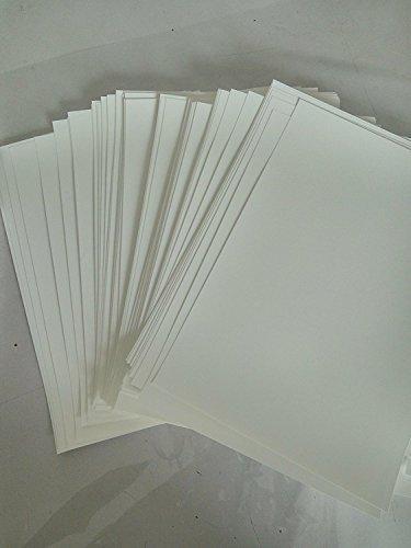 Hydrographics Film - Blank Water Transfer Printing Film - 12 Pcs A4 Size Blank Water Transfer Printing Film - Blank Water Transfer Film