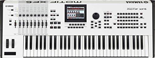 YAMAHA ミュージックシンセサイザー MOTIF XF6 WH ホワイト 61鍵盤