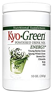 Kyolic Kyo-Green Energy Powered Drink Mix (10-Ounce)