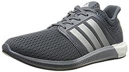 adidas Performance Men\'s Solar Boost M Running Shoe,Onix Grey/Silver/Black,11.5 M US