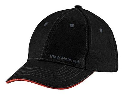 BMW Genuine Motorcycle Riding Bmw Motorrad Cap Universal Black