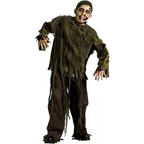 Baoer Dark Zombie Costume £¬ Large Green