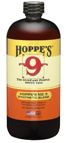 Hoppe's No. 9 Synthetic Blend Gun Bore Cleaner, 32-Ounce