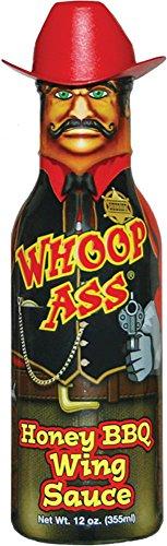 Whoop Ass Honey BBQ Wing Sauce