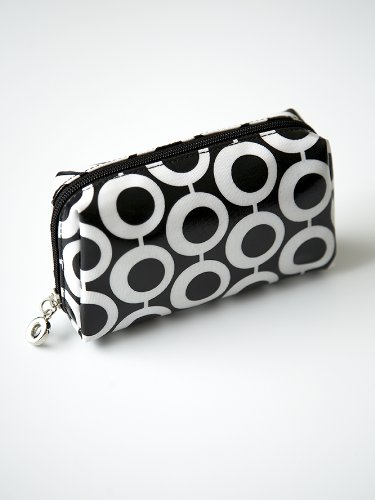 Julie Slater Designer Mono Hoops Small Cosmetic Bag