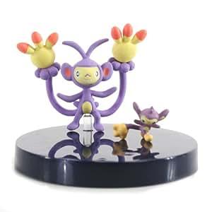 Squishy Pokemon Gashapon : Amazon.com: Pokemon Zukan Gashapon - Part 15 - Aipom & Ambipom (1/40 scale figures): Toys & Games