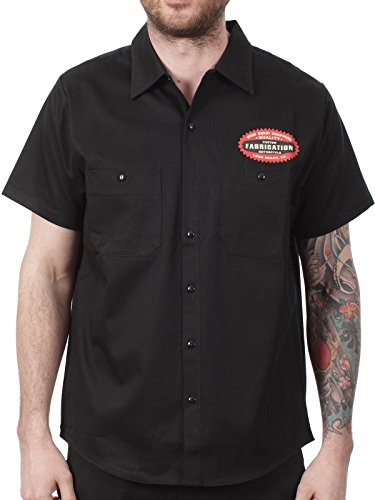 Camicia Da Lavoro West Coast Choppers Pan Head Nero (S , Nero)