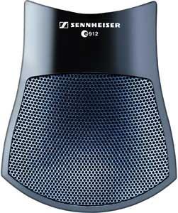 Sennheiser E912 Pre-Polarized Condenser Boundary Microphone (Black)