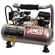 Senco PC1010 1-Horsepower Peak 1/2 hp running 1-Gallon Compressor