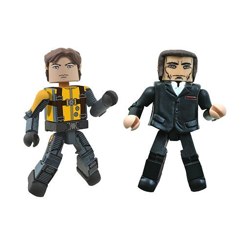 Marvel Minimates XMen First Class Exclusive Mini Figure 2Pack Professor Xavier Shaw