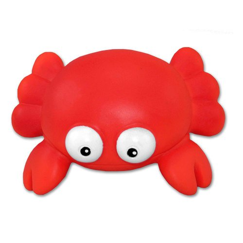 Puzzled Bath Buddy Red Crab Water Squirter - 1