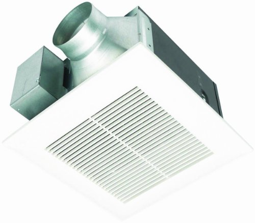 Panasonic FV-11VQ5 WhisperCeiling 110 CFM Ceiling Mounted Fan, White (Plug In Bathroom Fan compare prices)