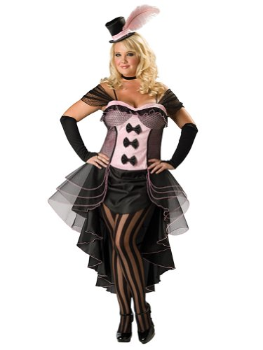 Sexy Plus Size Theatre Costumes Burlesque Dancer French CanCan High Quality