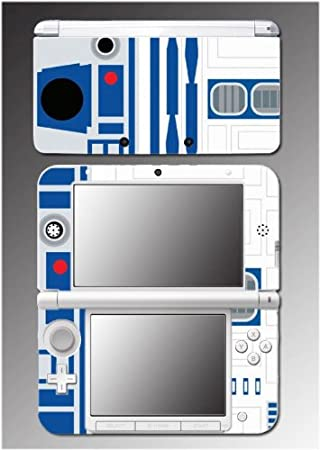 Star Wars R2-D2 R2D2 Jedi Luke Yoda Obi-wan Video Game Vinyl Decal Cover Skin Protector 15 Nintendo 3DS XL