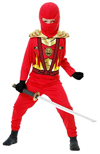 Ninja Avengers Series 4 Red Child Costume