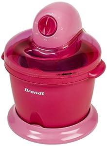 Brandt Sor 15 Sorbetière 1,6 L 50 W Framboise