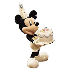 Lenox Mickey's Happy Birthday To You- March