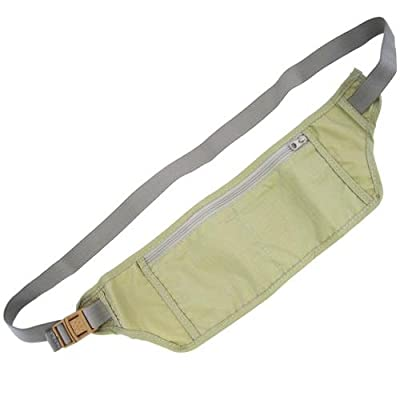Under Clothing Travel Money & Ticket Belt - Khaki by Crystal Edge Ltd