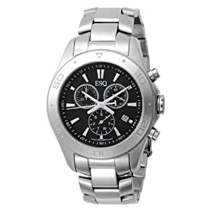 ESQ by Movado Men's 7301329 Aston Chronograph Stainless Steel Bracelet Watch