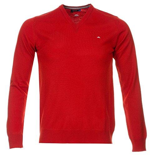 lindeberg-lymann-golf-hibrido-de-oveja-merina-punto-j-hombre-color-rosso-tamano-small