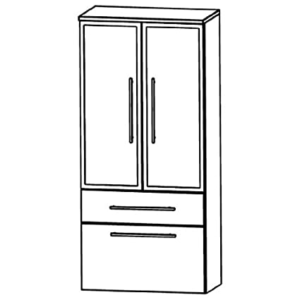 Puris Star Line (MNA886B7M Bathroom Cabinet 60 CM