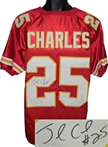 Jamaal Charles Autographed Hand Signed Kansas City Chiefs Red Prostyle Jersey- PSA... by Hall of Fame Memorabilia