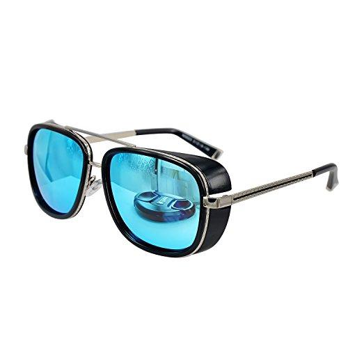 Unisex-Retro-Side-Shields-Steampunk-Sunglasses-in-Blue-Reflective
