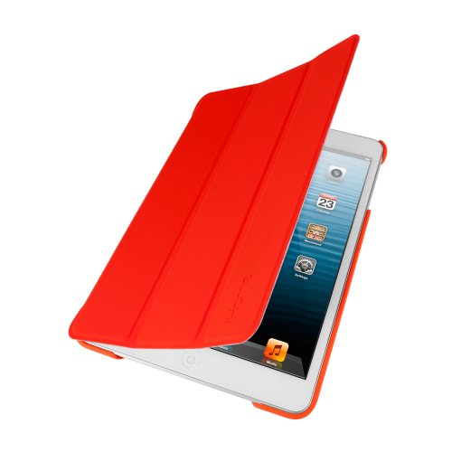 iHome IH-IM1160R Smartbook with Plastic Back Cover for iPad mini, Red