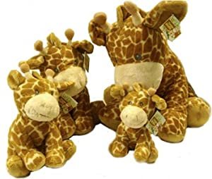 USA Wholesaler- 25298000-Russ Giraffe 21 Piece Family Plush Assorted Sizes Case Pack 21