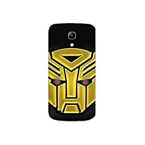 Design for Samsung Galaxy S4 Mini nkt05 (46) Case by Mott2 -Transformer - Golden (Limited Time Offers,Please Check the Details Below)