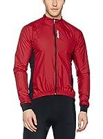 Santini Maillot Ciclismo (Rojo Oscuro)