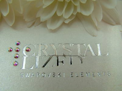 SWAROVSKI-Confezione da 100 cristalli AB SS6 2028-Fix colla, 2 mm
