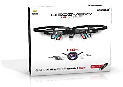 *Latest UDI 818A HD+ RC Quadcopter Drone with HD Camera, Return Home Function and Headless Mode* 2.4GHz 4 CH 6 Axis Gyro RTF Includes BONUS BATTERY + POWER BANK (*Quadruples Flying Time*) - USA TOYZ EXCLUSIVE!! from USA Toyz