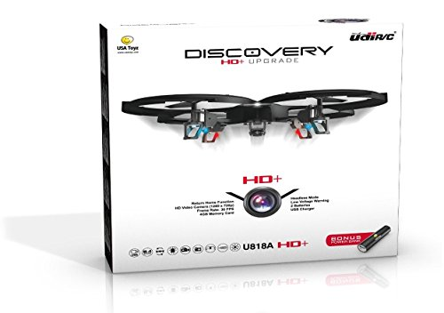 *Latest UDI 818A HD+ RC Quadcopter Drone with HD Camera, Return Home...